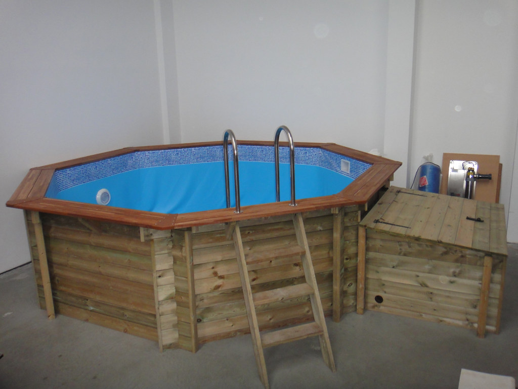 Plastica 4m Wooden Premium Above Ground Pool
