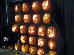 Geek Pumpkins at Comikaze Expo 2011