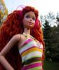 f171 (Alrunia) Tags: dreadlocks doll head ooak barbie yarn mold dreads fashiondoll mattel steffie reroot 16thscale playscale headmold