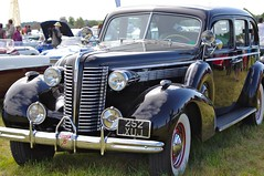 1938 Buick 8/90L (Dave Hamster) Tags: buick 1938 airshow oxford limousine buick8 flytothepast 890l buick890l 252xuj