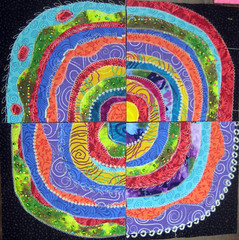 recycled circles student work