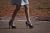 2601tw (Chico Ser Tao) Tags: street brazil woman sexy brasil walking women highheels legs mulher pernas rua mulheres caminhada voyer saltoalto voyerismo