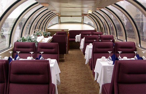 Private rail car, Dome Car - Friends of the 261 Inc.