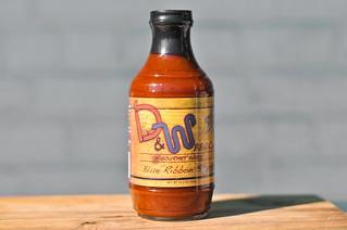 D&W Blue Ribbon BBQ Sauce
