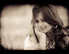 Joytu (Shutterfreak ) Tags: portrait girl smile sepia vintage daylight eyes nikon grassland vignetting bangladesh bnw toning inkiad joytu