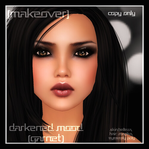 Darkened Mood Garnet @ [mock] cosmetics by Mocksoup