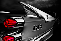 """Tales of the Future"" (Neil Banich Photography) Tags: original bw vintage automobile artistic details rear heavymetal chrome dodge custom fins 1959 tailights coolcars carpictures banich 1959dodgecoronet artcarart photograhyauto dodgeneil coolcarimages coolhotrodimages"