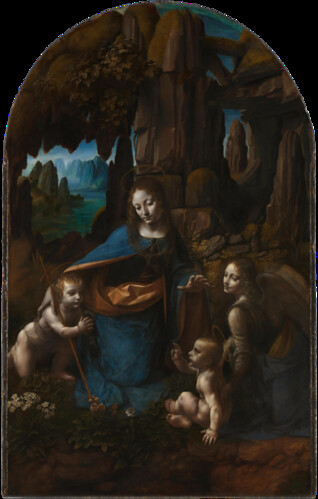 Leonardo, Virgin of the Rocks, London