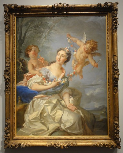 Portrait of Madame de Bourbon-Conti as Venus