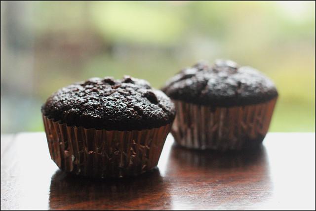 Vegan chcolate cupcakes