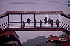 Chuadanga Railway Station (Asif Adnan Shajal) Tags: life light summer station canon photography photo asia day photographer district railwaystation trainstation 1855mm zilla bangladesh asif bangla adnan southasia bangladeshi  saarc chuadanga  shajal  1000d bangladeshrailway