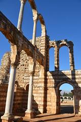 Anjar, Umayyad city, al-Walid I, 705-15, great palace (11) (Prof. Mortel) Tags: lebanon umayyad anjar