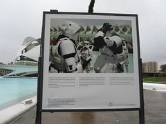 Star Wars troops in Valencia (hightower185) Tags: valencia dark star george side lucas wars troops sturmtruppen