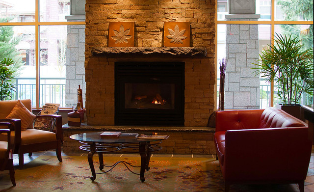 Summit Lodge lobby