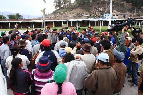 Tregua a paro en Andahuaylas y Chincheros