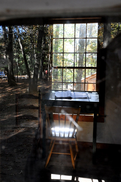 Thoreaus House, Walden Pond, Concord, Massachusetts
