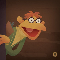 Muppabet_Scooter (David Vordtriede) Tags: muppets scooter disney jimhenson themuppets davidvordtriede stinkyham dwv74