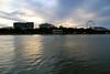 (Varun S Khanna) Tags: city blue red sky green colors yellow canon lights drink brisbane calm 7d serene moods varun giantwheel haveadrink coloredsea