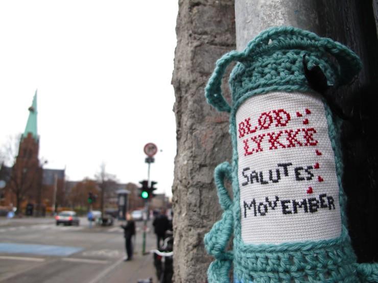 Blød Lykke salutes Movember