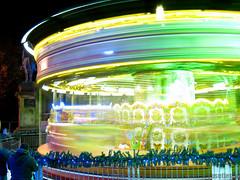 Merry-go-Round at Cardiff Winter Wonderland (ScouseTiegan) Tags: winter horses ride cardiff fair wonderland merrygoround winterwonderland fairride nightset chdk a480