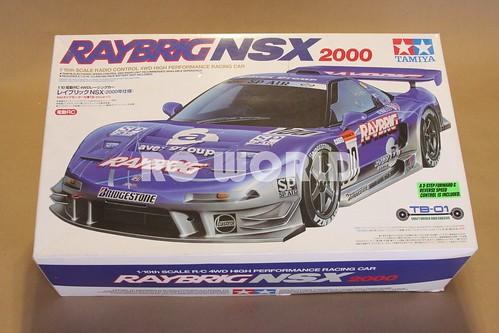 Tamiya Rc Acura Nsx Raybring 2000 Race Car A Photo On Flickriver