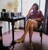 Taking a Break (MarcieGurl) Tags: sisters tv cd tgirl transgender erie ts gurl crodresser lakeeriegala