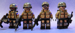 Call of Duty: Modern Warfare 3 Delta Force Minifigs (~Amadgunslinger~) Tags: 3 black modern truck call frost force lego fig duty delta mini grinch sandman minifigs custom ops warfare brickarms brickforge