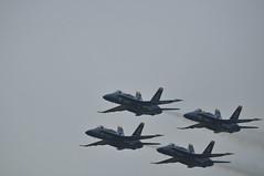 Diamond (robsv) Tags: geotagged florida military navy airshow jacksonville hornet f18 blueangels usn aerospace fa18 nasjax