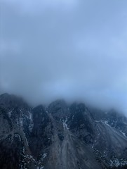 In Touch with Clouds (Union*) Tags: from blue mountain alps fog clouds austria moody motorway cloudy border tint slovenia peaks alpe ljubelj karavanke karawanken loiblpass begunjščica podljubelj