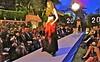Jalila's fashion show Friday night at the La Valencia Hotel on Prospect St. (Juliana Beletsis) Tags: model fashionshow runway jalila