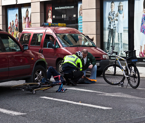 Accident: Cycling In Dublin Is A High Risk Activity, Or Is It?