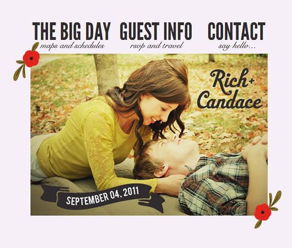 Omaha, Nebraska Wedding Planner wedsite-home