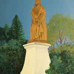 "<b>The Martin Luther Statue</b><br/> Eckheart (Professor Emeritus of Art) (Oil on canvas, 2011)<a href=""http://farm7.static.flickr.com/6228/6214790050_ec0e65f9ed_o.jpg"" title=""High res"">∝</a>"