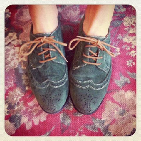 green brogues
