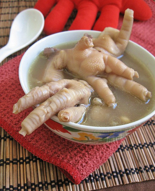 Mountain Chicken Cooked to Cook Chicken Feet Soup
