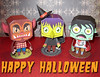 Halloween Paper Toy Set