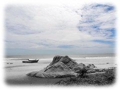 The beach at Mahabalipuram