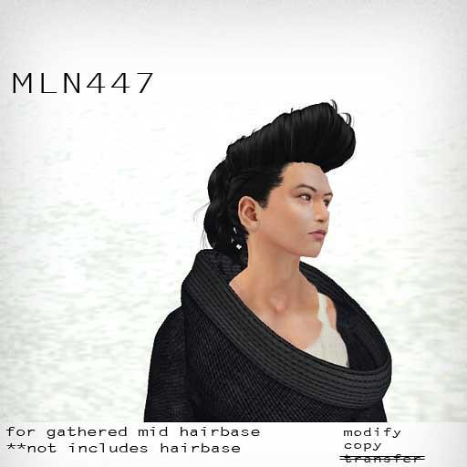 booN MLN447 hair