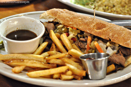 Chicago French Dip at Axel's Bonfire ~ St Paul, MN