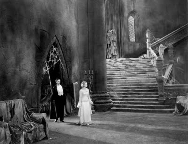 Dracula 1931 set Universal Studios Tod Browning