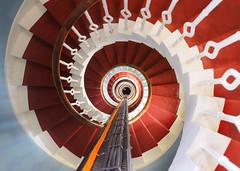 Spiral Staircase, Buchan Ness Lighthouse (iancowe) Tags: lighthouse tower spiral scotland stair interior scottish stevenson staircase round inside buchan ness peterhead northernlighthouseboard nlb robertstevenson boddam lighthousetrek buchaness wbnawgbsct