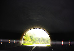tunnel vision  ------ (A Picture is Worth ---) Tags: mist tennessee tunnel simplicity tunnelvision