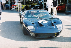 2011 Goodwood Revival: Ford GT40 (8w6thgear) Tags: ford film analogue goodwood sportscar paddock gt40 revival zenite 2011 hema200