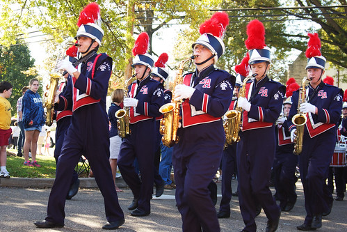 Homecoming 2011:  Here comes the band!