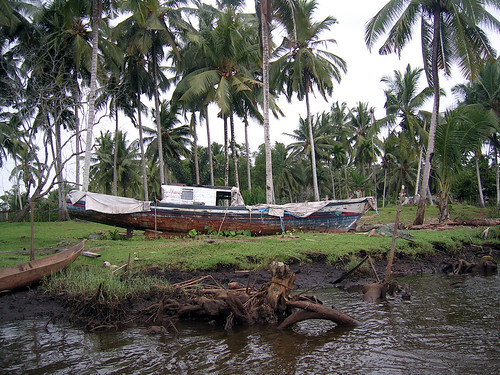 Tsunami damage in Aceh, Indonesia, photo by Dedi Supriadi Adhuri, 2006