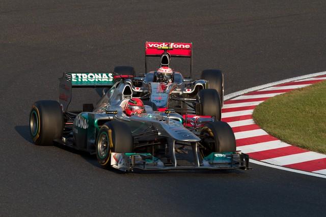 Schumacher VS Button