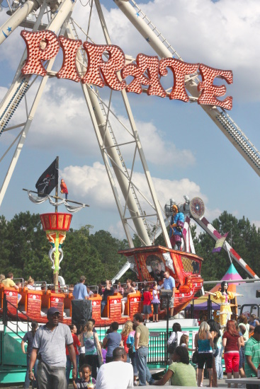 Ga Fair - Pirate ride