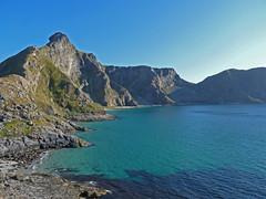 Vry nature  P1160302 (grebberg) Tags: sea wild mountain norway norge view rocky september lofoten fjell hav sj nordland vry 2011 vaeroy sanden vildt litlhen klakktuva
