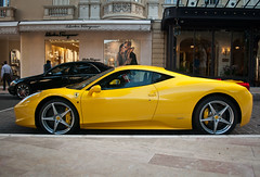 Ferrari 458 Italia + Maybach 57s (piolew) Tags: black yellow italia top ferrari monaco carlo monte marques maybach 458 2011 57s tm11