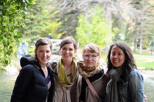 Melissa, Katherine, Lizzy & Karyn